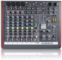 Allen and heath Mixer ZED 10FX 4 Mic/Line 2 Stereo Ch 2 Aux Rotary USB