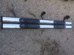 side steps for Toyota hilux double or fordRanger model
