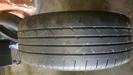 225/45/18 run flat Bridgestone