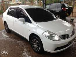 Clean Nissan Tiida Latio for sale at ksh.650,000