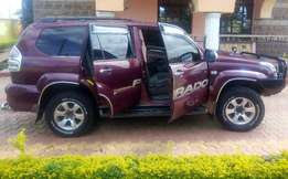 Excellent Toyota Land Cruiser Prado 120 Series--2.7cc. BUY AND DRIVE