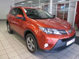 2015 Toyota Rav4 2.0 GX Auto Orange 40,000km R 299,900