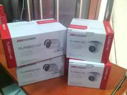 Turbo HD dome and bullet camera.
