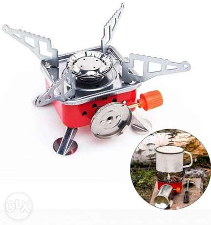 New foldable and portable Mini stove for outdoor cooking بوشر -  3