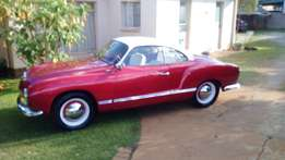 1956 Karmann Ghia Lowlight left hand drive West Germany manufactured