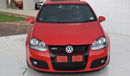 Vw golf gti 2.0 tfsi in an mint condition