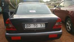 Hard body Mercedes-Benz c 180 for sale