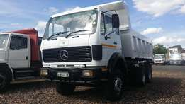 mercedes benz 2628 with new tipper bin & hydraulics