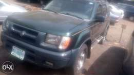Registered Nissan Xperia jeep well used 2000 model good condition