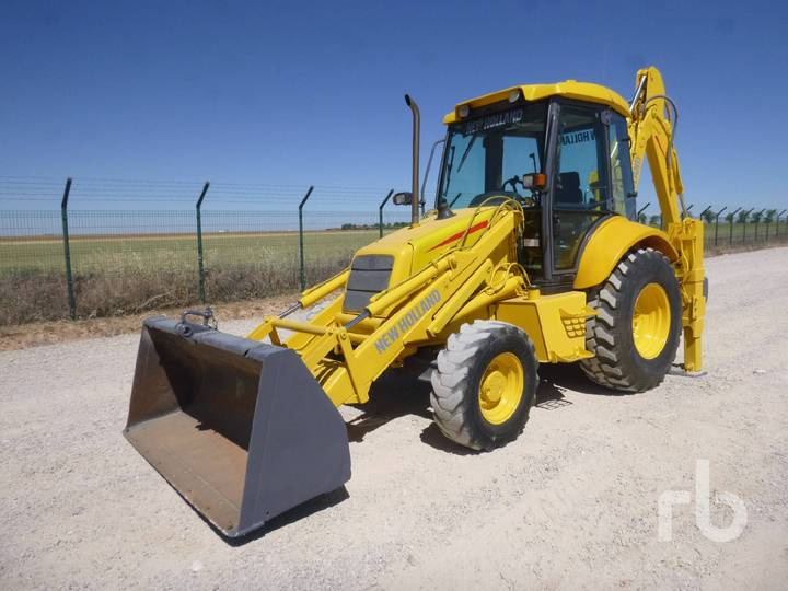 New Holland LB110 4x4 - 2000