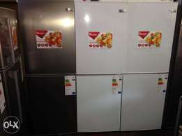Brand New Ramtons Combi Silver and White Fridges - Rf/289