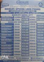 Promo!! Get Plots of lands at different locations