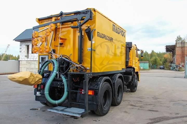 MADROG MPA 6.5WD asphalt distributor