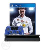 Brand New PS4 500GB Slim Console + FIFA 18