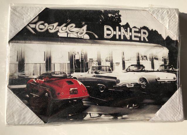 Obrazy Na Płótnie 30x20 Stare Samochody Plakaty Obraz Ozdoba