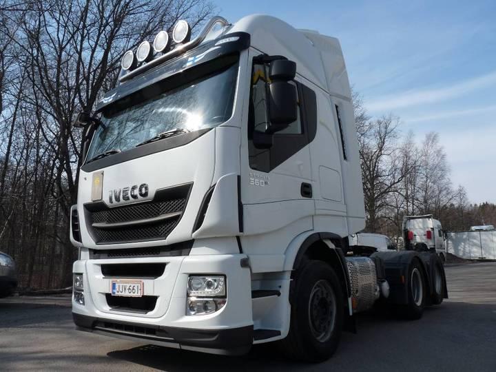 Iveco Stralis 560 E6 6x2 - 2016