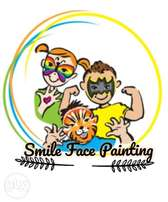 Smile face painting