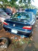 406 Peugeot 406 metallic blue