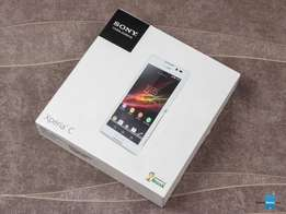 Brandnew sony xperia C with free glass protector