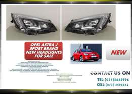 Opel Astra J Sport 2010 onwards New Headlights for sale Price:R1795