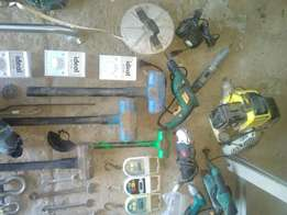 Lots of tools