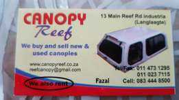 Canopies for sale