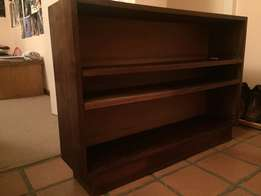 Stink wood Bookshelf in beautiful condition
