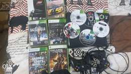 Xbox one and Xbox 360 with games for sale