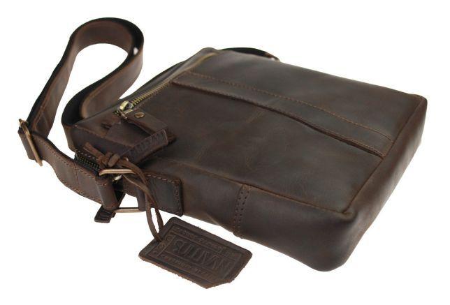 d118b9c84043 Кожаная мужская сумка натуральная кожа ручная фирма sullivan Чернигов -  изображение 5