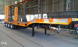 New 13.5 3axle lowbed trailer