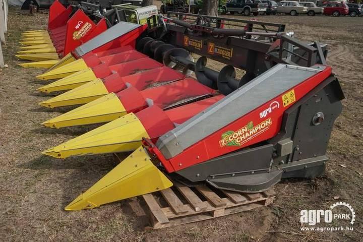 Ziegler 6 Row Foldable Corn Header For Tucano/lexion Machi - 2015