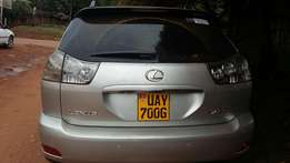 Toyota harrier UAY