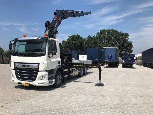 DAF Cf 106.410 Hiab 377 Ep5 Euro 6 - 2018