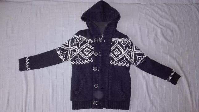 3372fed43e REBEL jedyna taka kurtka sweter z kapturem 128-134 Warka - image 1