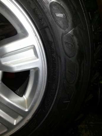 245/70R16 Goodyear wrangler tyres with mags for Ford Ranger(4) on sal Pretoria West - image 4