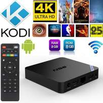 T95N S905X 4K Android 6.0.1 Smart 2G/8G ANDROID TV BOX Quad Core