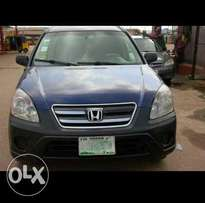 Registered Honda CRV 2005 Model