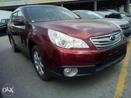 Subaru Outback Wine Red