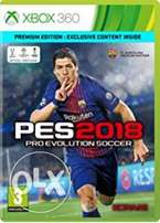 Pro evolution soccer (pes) 18 for xbox 360