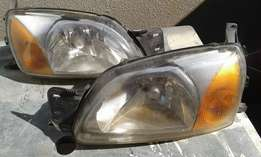 2006 Ford Bantam headlights
