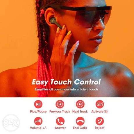 Mpow M9 TWS Earbuds True Wireless Bluetooth 5.0 Headphone IPX7 Waterpr الرياض -  5