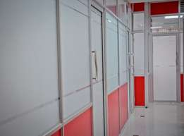 Office Partitioning-Aluminium, Gypsum Partitions, Renovations