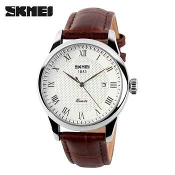 Skmei leather watch Nairobi CBD - image 2