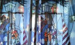 pirate boys curtains