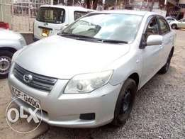 Toyota Axio 2008 For Quick Sale Asking Price 730,000/=o.n.o