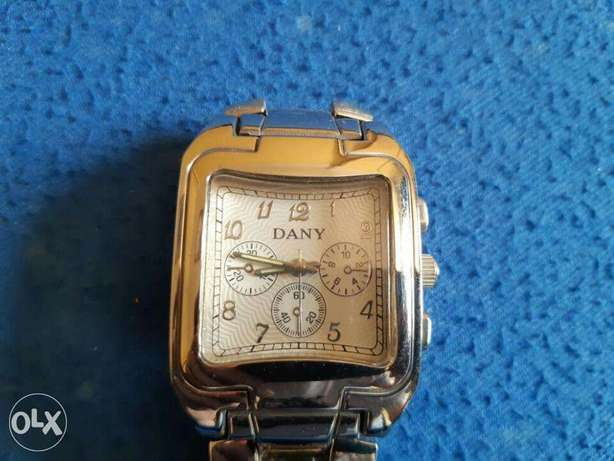 Dany classic watch silver from France
