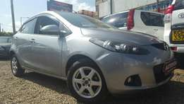 Mazda Demio Newshape, Dark Gray ,Year 2010, Engine 1300cc, Automatic
