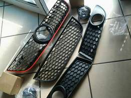 Polo gti grills and spots