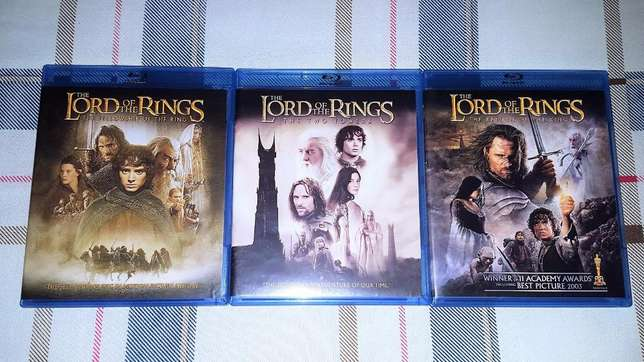 The Lord of the Rings Movie Trilogy Blu-ray Tongaat - image 1