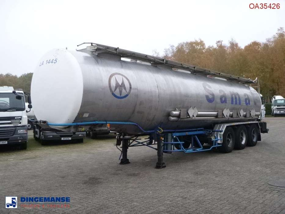 BSLT  Chemical tank inox 34 m3 / 4 comp - 1991